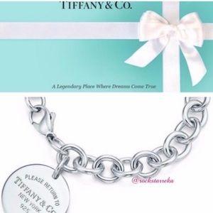 Authentic TIFFANY & CO Round Tag Bracelet